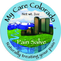 My Care Colorado Pain Salve Round Labels