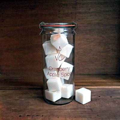 Vedge Candle Soy Melt Clear Labels