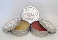 Round Lip Balm Lid Labels by Lily's Luscious Lips