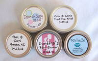 Party Favor Lip Balms Customized for Baby Showers and Wedding Showers