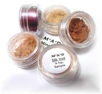 Circular Labels for Mineral Makeup
