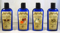 Cobalt Blue Hand and Body Lotion Bottle Labels by Farmers Apothecary
