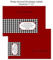 Wrap Around Envelope Labels