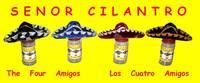 The Four Amigos Spice Labels Los Cuatro Amigos