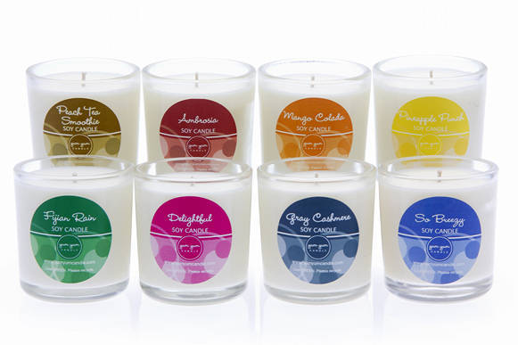 Candle labels by yum yum candle customer ideas for Candele on line