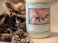 Vintage Labels Moulin Rouge Lotion Bottle