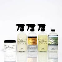 Clear Bottle Labels by Mrs. Jones' Soapbox
