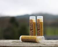 Brown Kraft Lip Balm Labels by Lucky Bear Soap Co.