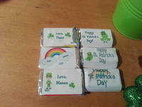 St. Patty's Day Candy Labels