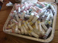 Lip Balm Labels - Favor Giveaway at Momentum Church