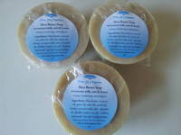 Round Soap Labels by True U Organics Shea Butter Soap