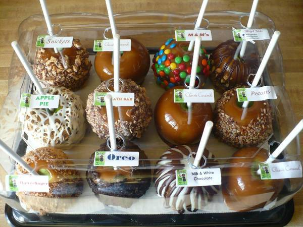 Caramel Apple Labels by The Apple Girl's - Yummy!