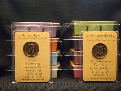 Label & Wax Seal by Candle Light Nights-Yummy Melts