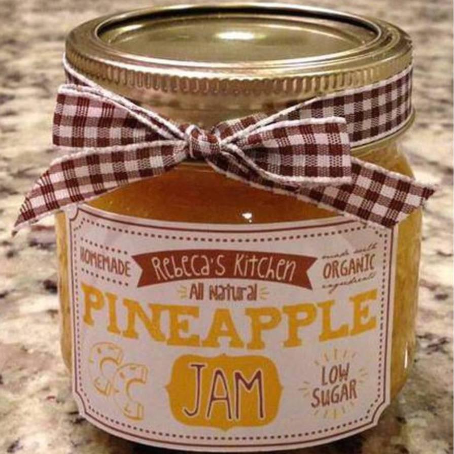 Rebecas Kitchen Pineapple Jam Customer Ideas Onlinelabels