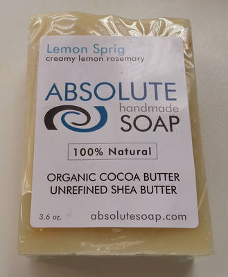 Absolute Soap Lemon Sprig Soap
