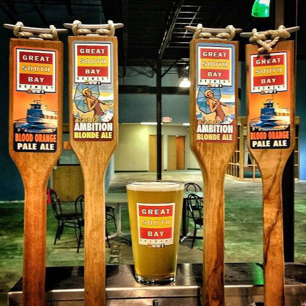 Great South Bay Brewery Tap Handle Beer Labels - Customer ...