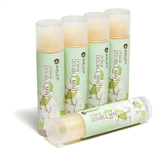Luscious organic lip balm tube labels customer ideas for Chapstick label design