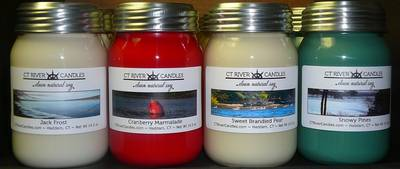 CT River Candle Labels