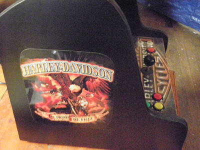 harley-davidson arcade sideart using 12x18 labels