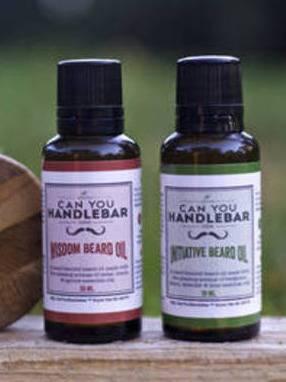 Premium Beard Oil Labels