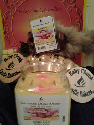 Soy Candle Labels by Baby Chunk Candlemakers