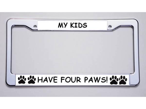 Designer License Plate Frames
