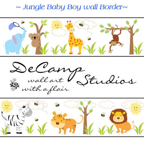 Wall Border Nursery Decal Labels Customer Ideas