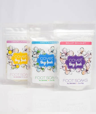 Foot Soak Labels by Covet Thy Feet