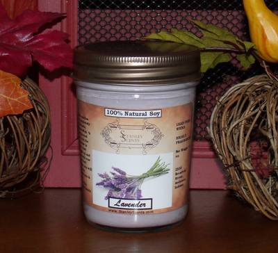 Lavender Best Soy Jar Candle Labels Ever By Stanley Scents