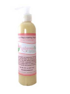 Ambrosia Hair Product Label