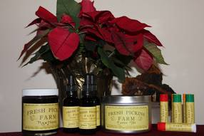 FPF Product Labels - Chaga Tea, Tincture, Lip Balms and Honey