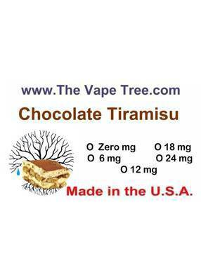 The Vape Tree E-liquid Label