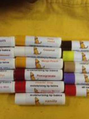 Lip Balm Labels by Howlin Dog
