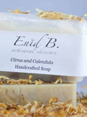 Calendula and Citrus Soap Labels by Enid B.