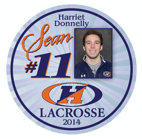 Labels For Hobart College Lacrosse Parent Buttons