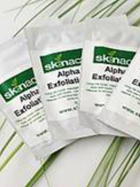 Product Labels for Alpha Beta Exfoliator Towels