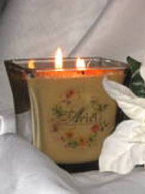 Product Labels For White Diamond Soy Candles