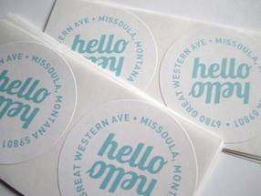 Round Address Labels