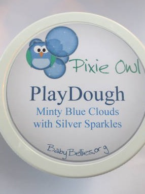 Pixie Owl Product Labels (Handmade Sensory Toys for Children)