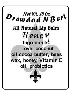 DrewdodNBerts Honey Lip Balm