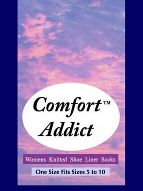 Comfort Sock Shoe Liners Sticky Hangtag Label
