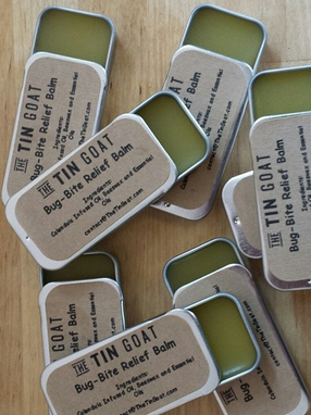 Bug-Bite Relief Balm Labels by The Tin Goat