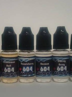 604 Vaperz 10ml eLiquid Label