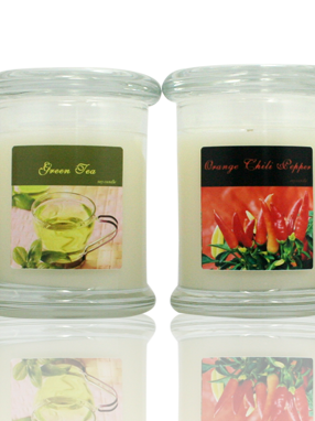 Candle Labels for The Market Collection by Harbor Mill Candle Company