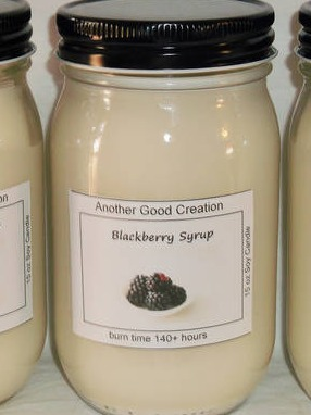 Soy Candle Labels by Another Good Creation