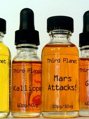 Third Planet e-Liquid Bottle Labels