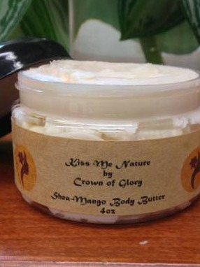 Shea-Mango Body Butter Labels by Kiss Me Nature