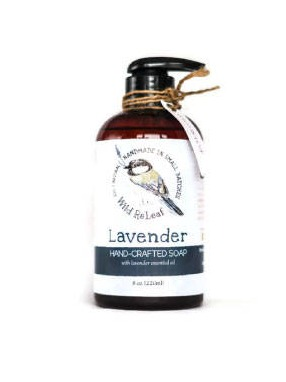 Vegan All Natural Liquid Hand Soap Labels