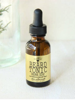 URB APOTHECARY BEARD TONIC ORIGINAL SCENT Labels
