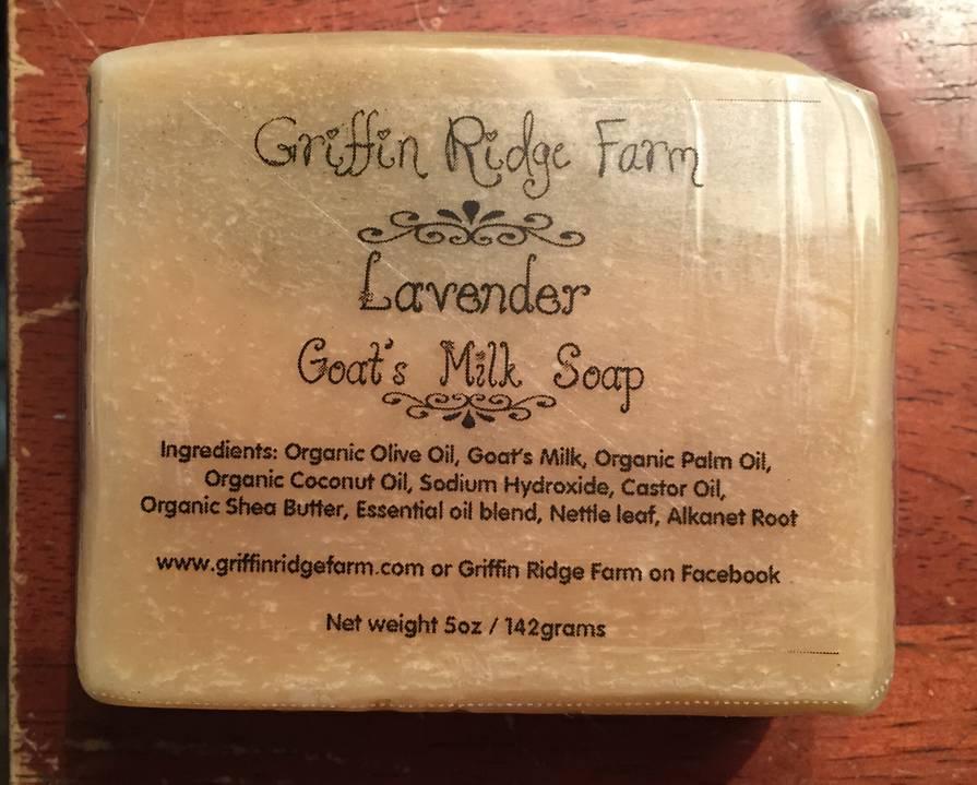 Lavender Goat S Milk Soap Labels For Griffin Ridge Farm